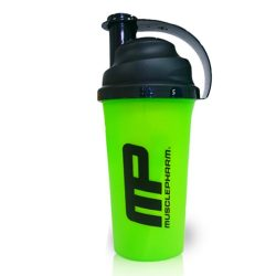 MusclePharm Shaker Black/Green 700ml