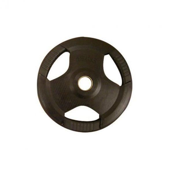 PL26 (50 mm) Fekete fogós gumírozott tárcsa