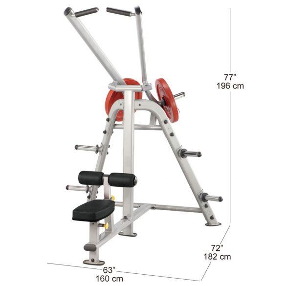 Body-Solid Plate Load Hátgép (PLLA)
