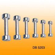 Chrom egykezes set 1-2-3-4-5-6-7-8-9-10 kg (10)pár