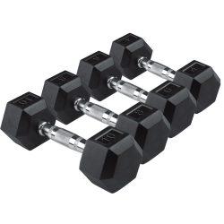 Egykezes hex szett 1-30 kg között (18 pár)