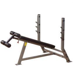 Body-Solid Olympiai negatív fekvenyomópad (SDB351G)