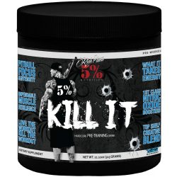 5% Nutrition Kill It  Pre Workout 375g - Blue Raspberry