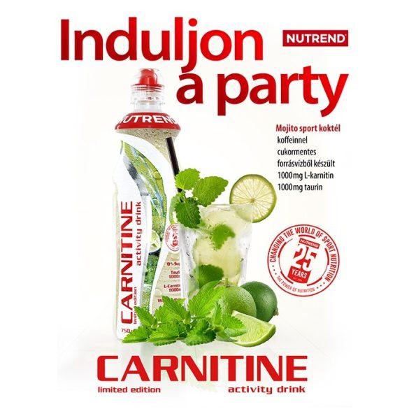 Nutrend Carnitine Activity Drink Koffeinnel - 750 ml