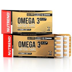 Nutrend Omega 3 Plus Softgel Caps