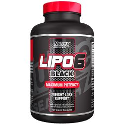 Nutrex Lipo-6 Black - 120 kapszula