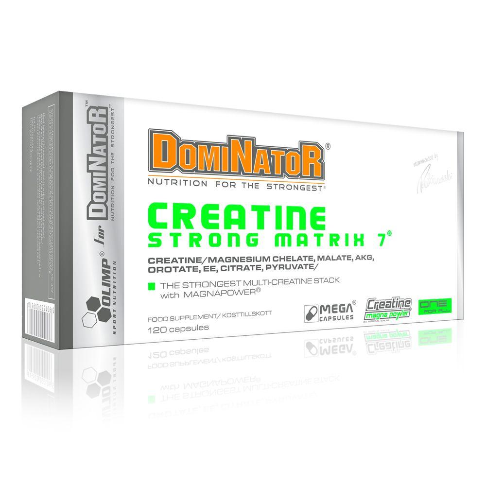 Olimp DOMINATOR Creatine Strong Matrix 7 mega caps  kreatin 120 kapszula