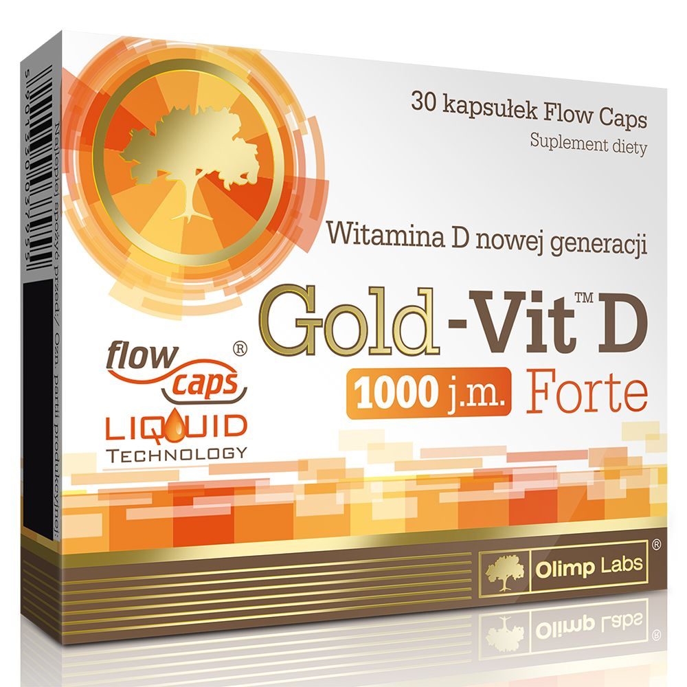 Arizona Gold Swimming: Olimp Labs Gold VIT™ D Forte Vitamin 30 Kapszula