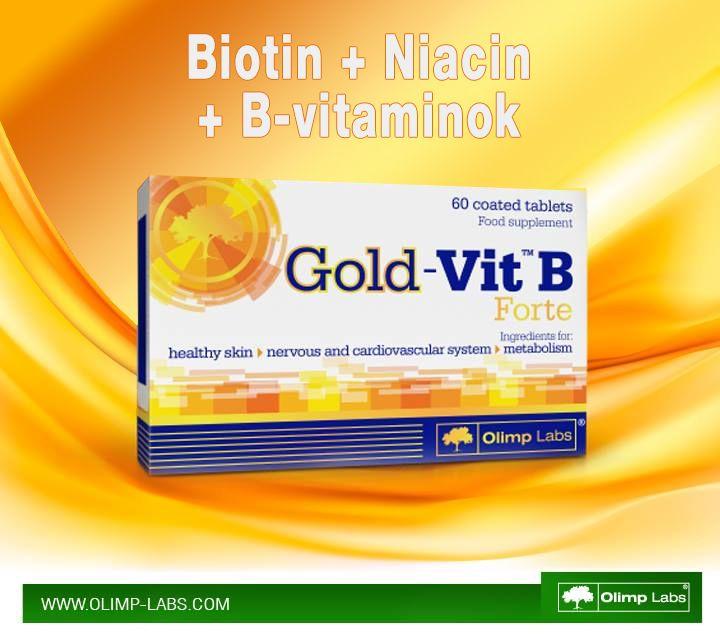 Arizona Gold Swimming: Olimp Labs Gold VIT™ B Forte Vitamin 60 Tabletta