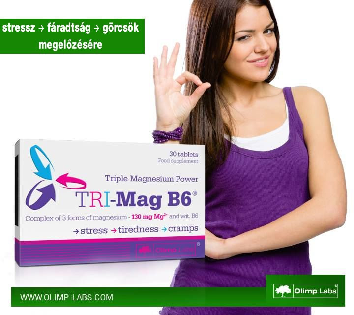Olimp Tri-mag B6 vitamin készítmény