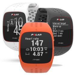 Polar M430 HR GPS multisport óra