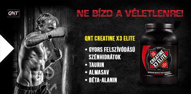 QNT Creatine X3