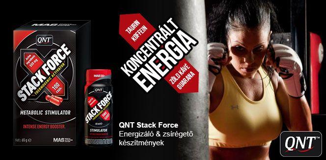 QNT Stack Force zsírégető készítmények