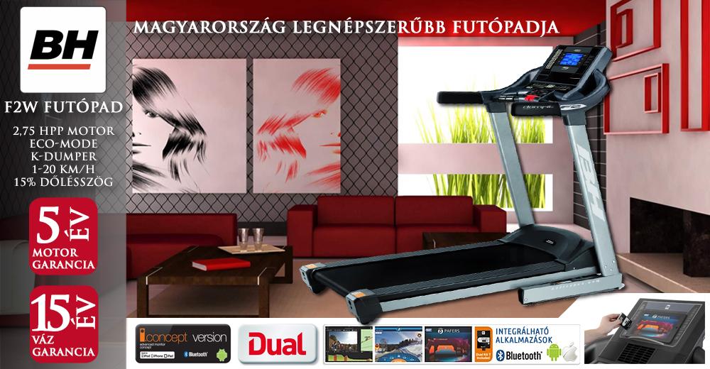 Bh Fitness F2 Dual interaktív futópad