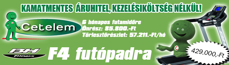 BH Fitnes futpad hitelre