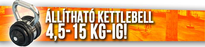 Ruilin Rising állítható Kettlebell 15 kg