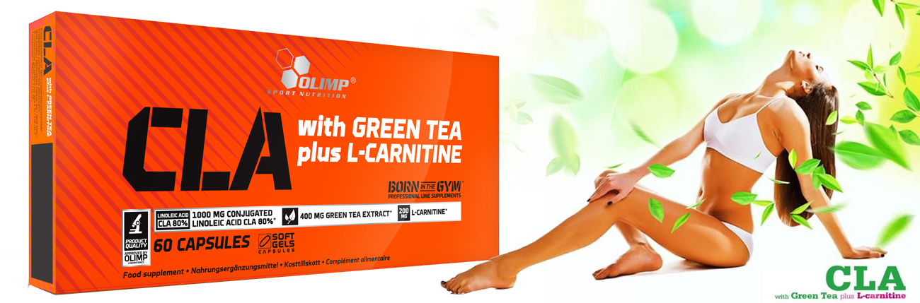 Olimp CLa & Green Tea plus L-carnitine zsírégető