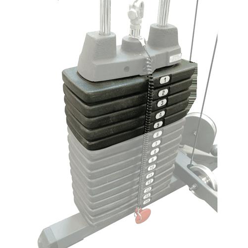 SP50 (x2): Extra lapsúly 2x23 kg (2x50 font)