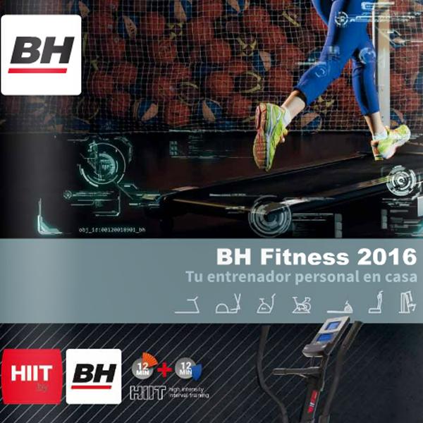 BH Fitness 2016 katalógus - ENG