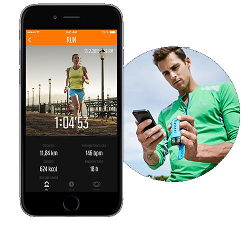 Suunto Abit 3 peak GPS - Szinkronizálás