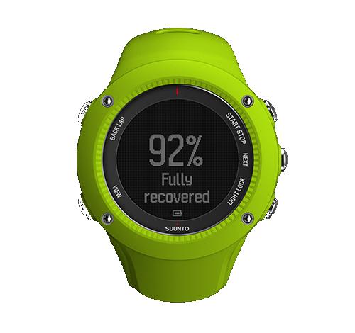 Suunto Abit 3 peak GPS - ellenőrizd regenerációdat