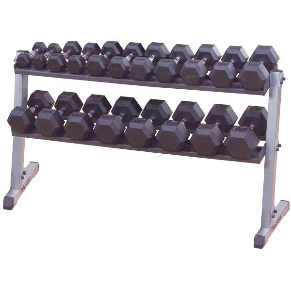 Body-Solid 2 soros egykezes súlytartó állvány (GDR60)