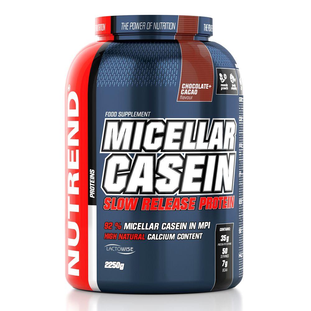Nutrend Micellar Casein - 2250 g + ajándék BCAA Mega Strong Powder 300 g