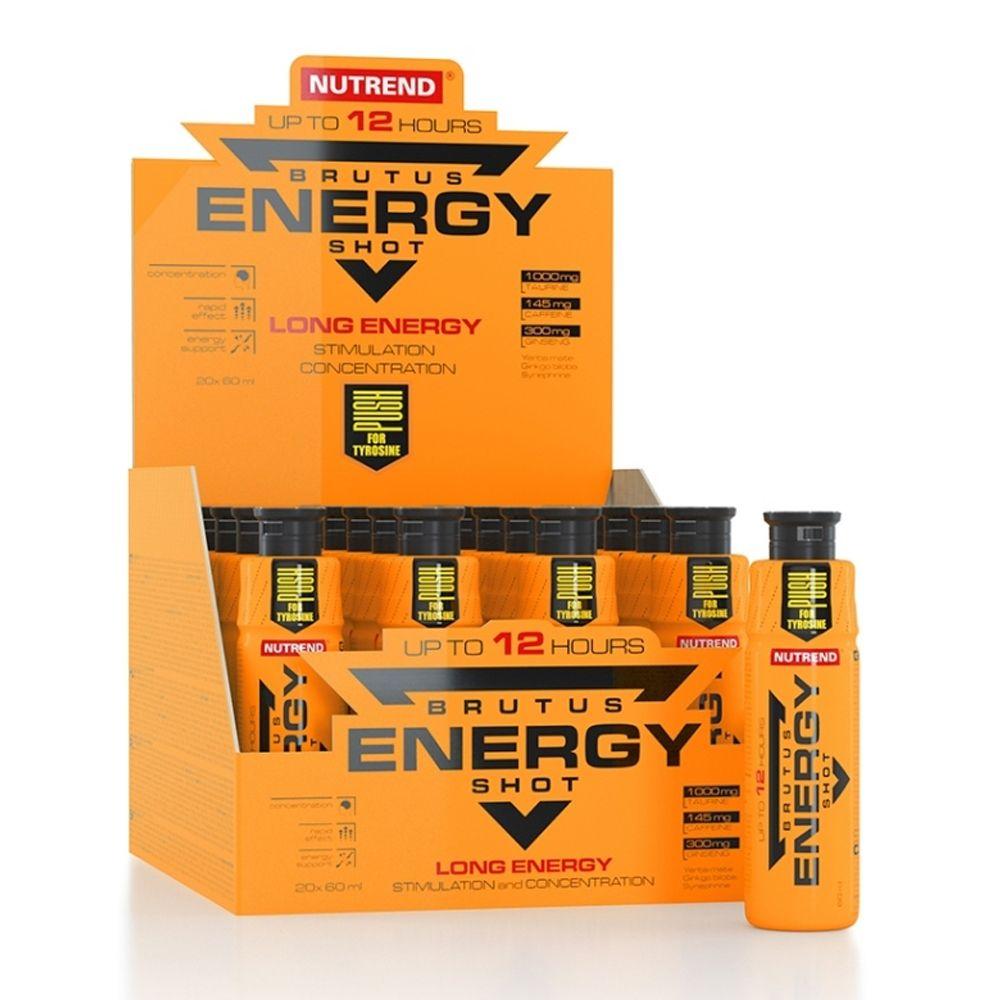 Nutrend Compress Brutus Energy Shot 60ml
