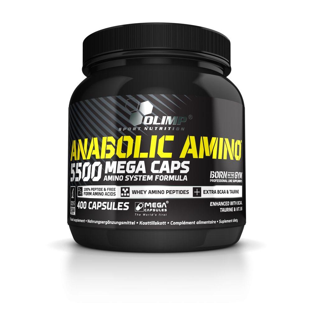 Olimp Anabolic Amino 5500 Mega Caps® 400 kapszula