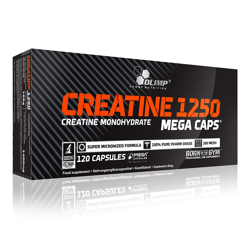 Olimp Creatine 1250 Mega Caps 120 kapszula
