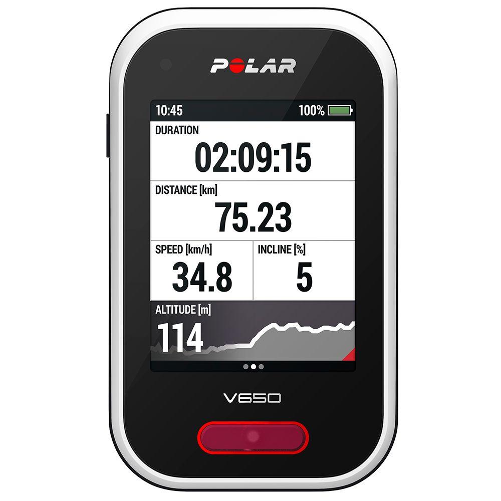 Polar V650 HR GPS kerékpáros óra