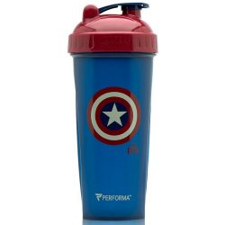 Hero Shaker - Marvel Collection- IW Captain America Avengers Infinity War Serie 800ml
