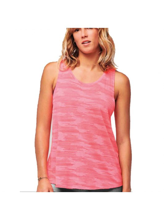 Ladies Tank Top - Fluo Pink