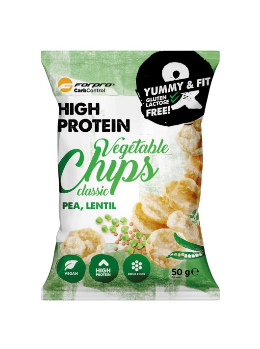 Forpro Protein Vegetable Chips Classic 50g