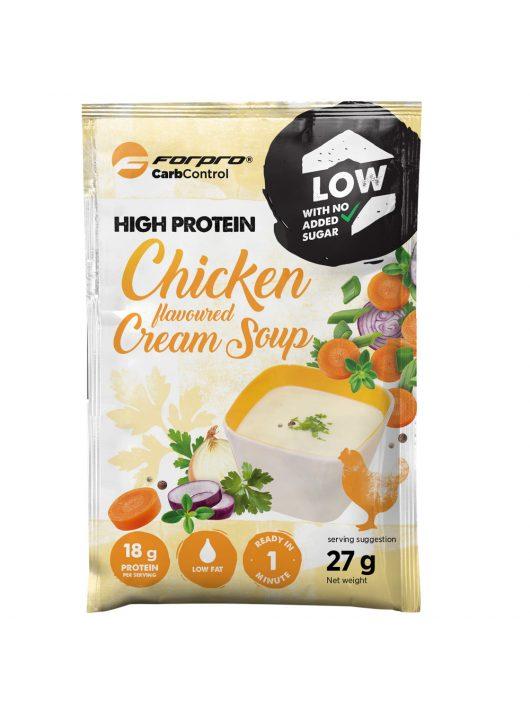 Forpro High Protein Soup Chicken Cream - 27 g