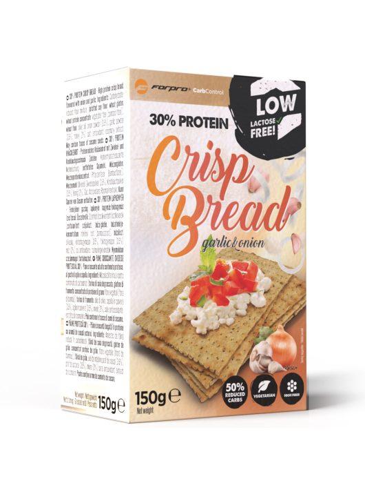 Forpro 30% Protein Crisp Bread - Garlic & Onion - 150g