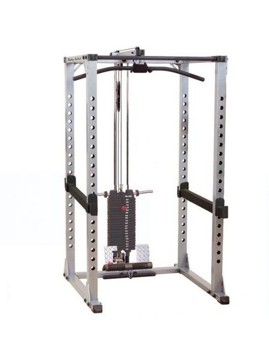 Body-Solid Erőkeret hátgéppel és 95 kg lapsúllyal (GPR378+GLA378S+SP200)