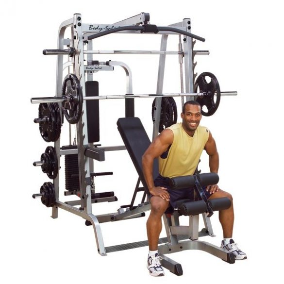 Body-Solid Series 7 Smith Gym System (GS348QP4)