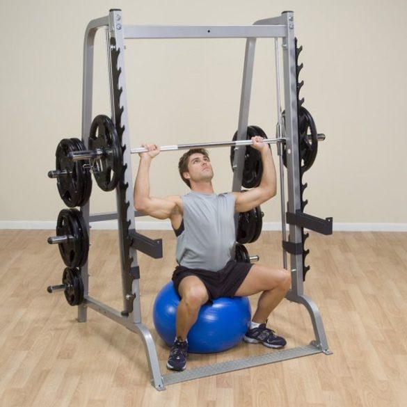 Body-Solid Smith erőkeret szabadsúlyos guggoló kerettel (GS348Q)
