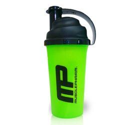 MusclePharm Shaker Black/Green 700ml