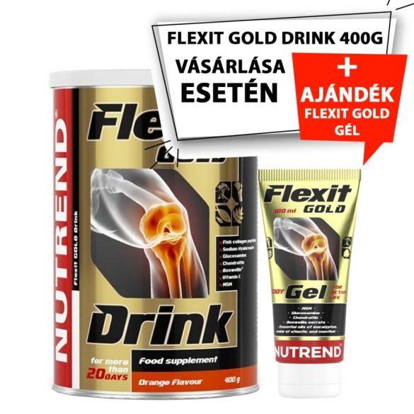 Nutrend Flexit Gold Drink + Flexit Gold Gel - 400g Orange