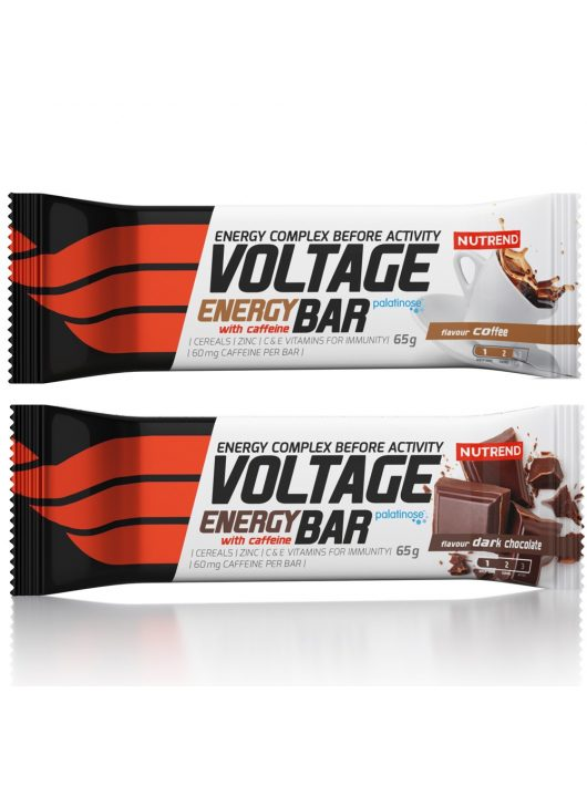 Nutrend Voltage Energy Bar With Caffeine 65g
