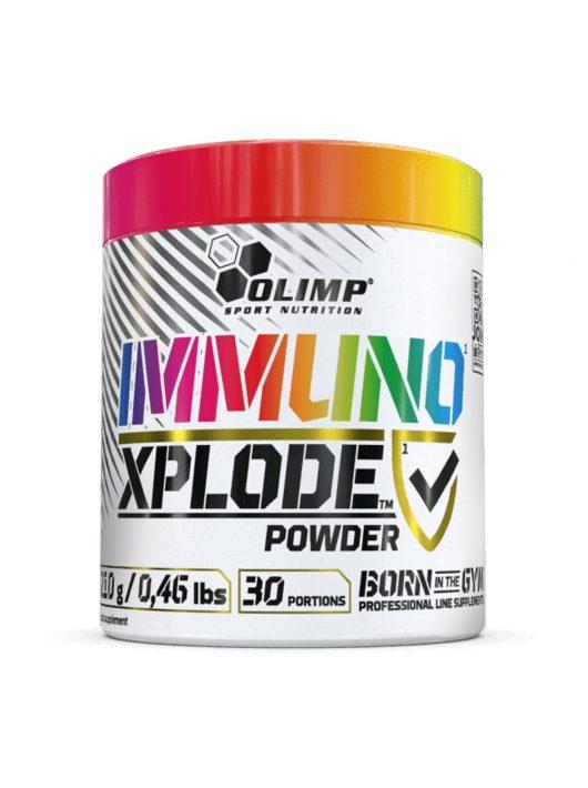 Olimp IMMUNO XPLODE POWDER® 210g + AJÁNDÉK Olimp Gold-Vit C® 1000 Forte
