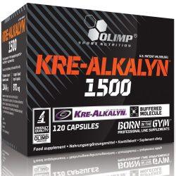 Olimp Kre-Alkalyn 1500 kreatin - 120 kapszula