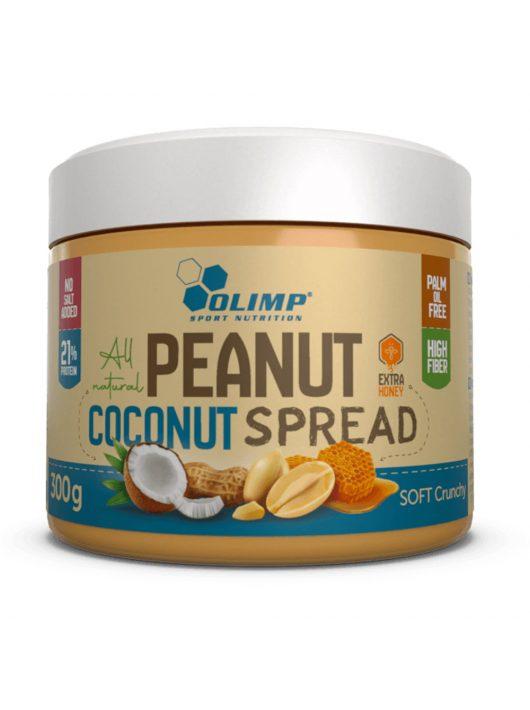 Olimp Almond Coconut Spread 300g - Soft Crunchy
