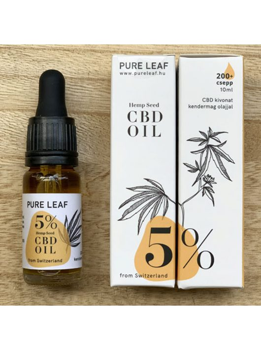 Pure Leaf 5% CBD olaj - 10 ml