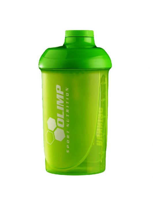 "OLIMP ""RUNNING IS CHEAPER..."" Shaker 500ml - green"