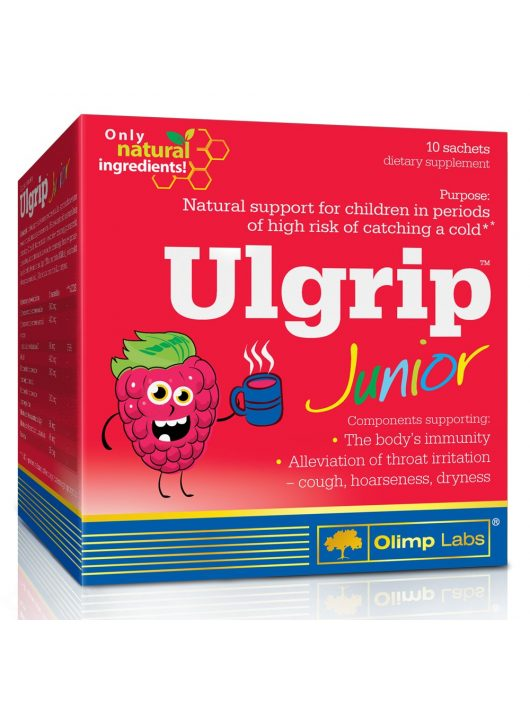 Olimp Ulgrip Junior - 10 tasak málna íz