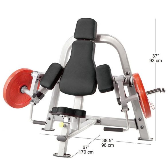 Body-Solid Plate Load Bicepszgép (PLBC)