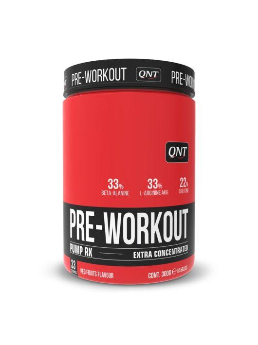 QNT PRE-WORKOUT PUMP-RX 300g - Red Fruit